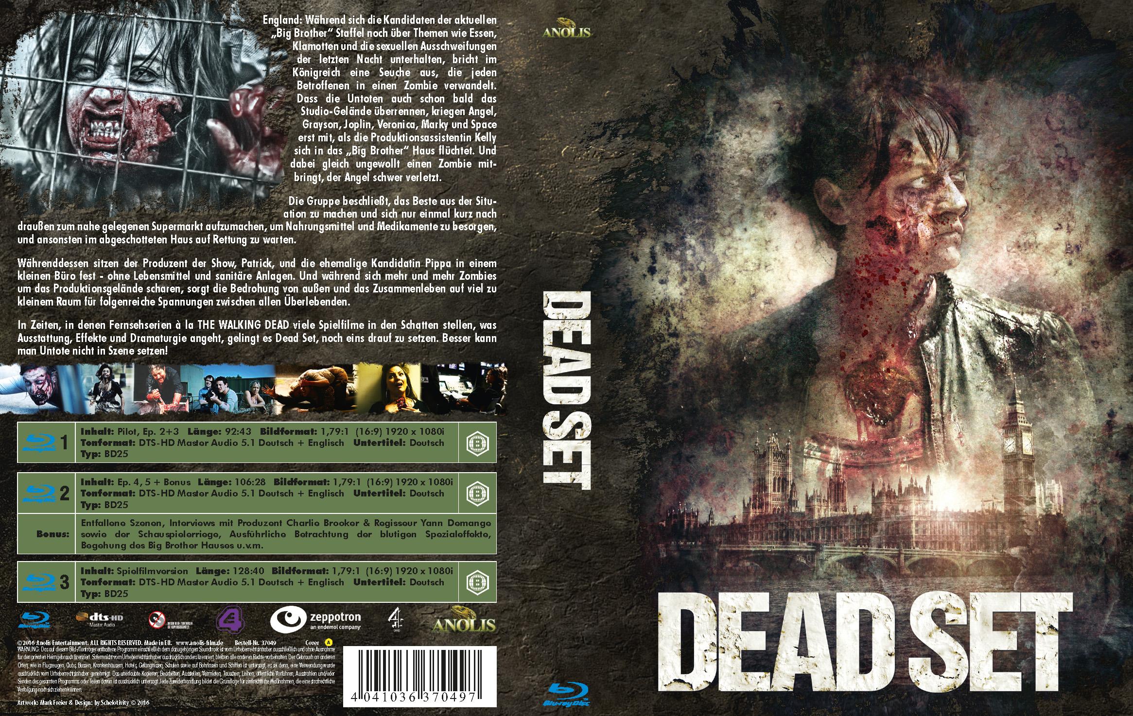 Dead Set (Mediabook Cover A)
