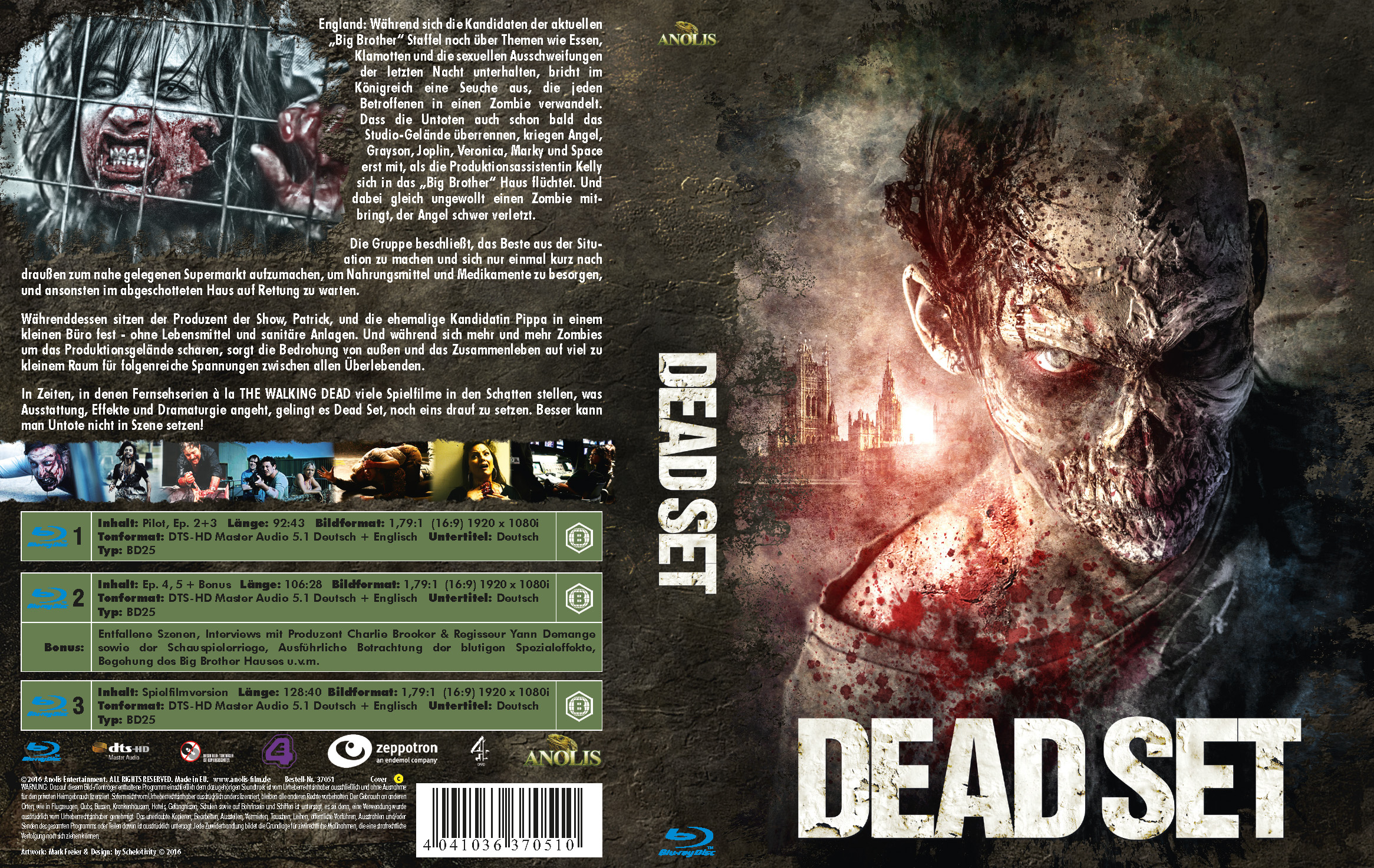 Dead Set (Mediabook Cover C)