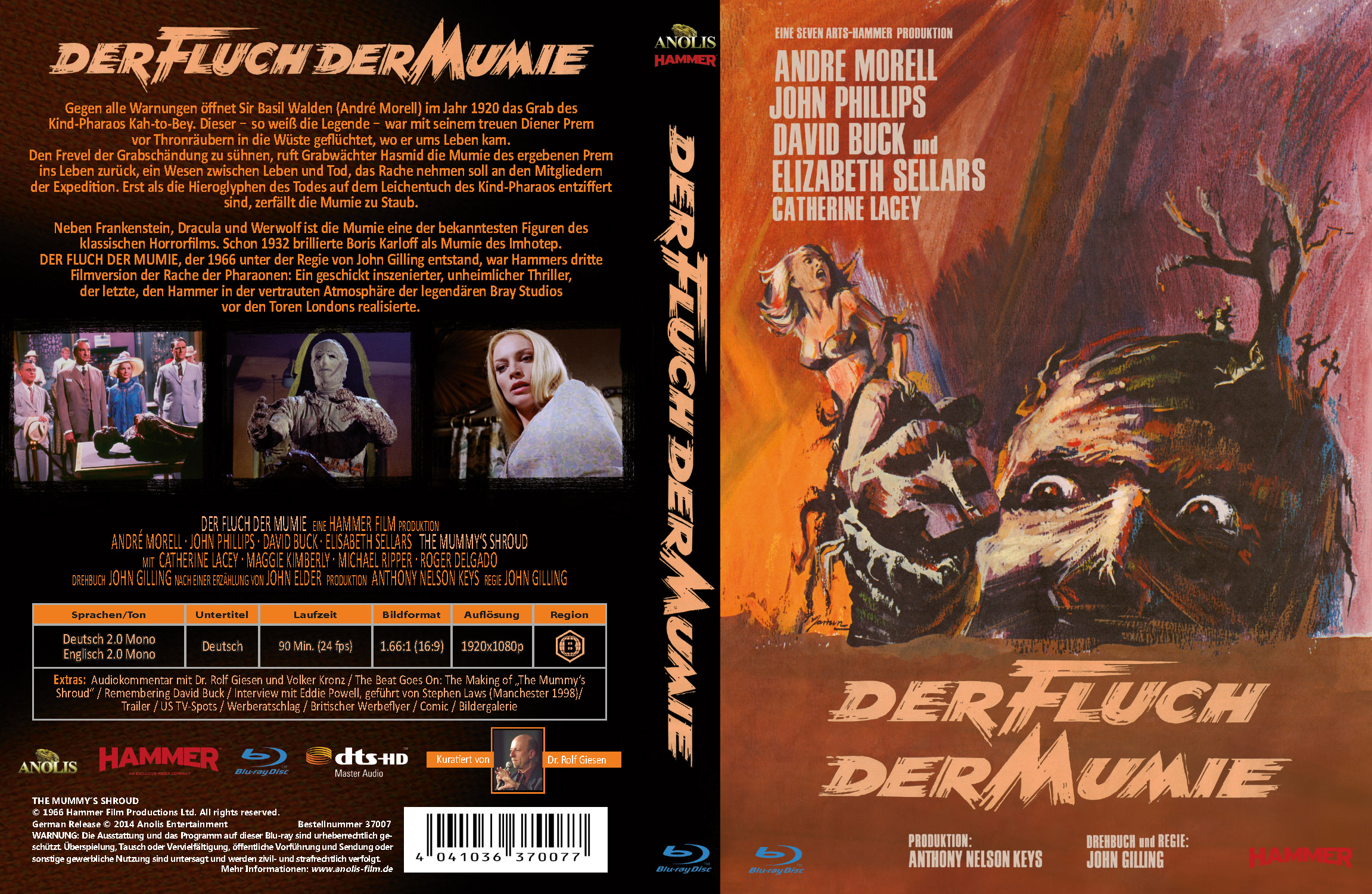 Der Fluch der Mumie (Mediabook)