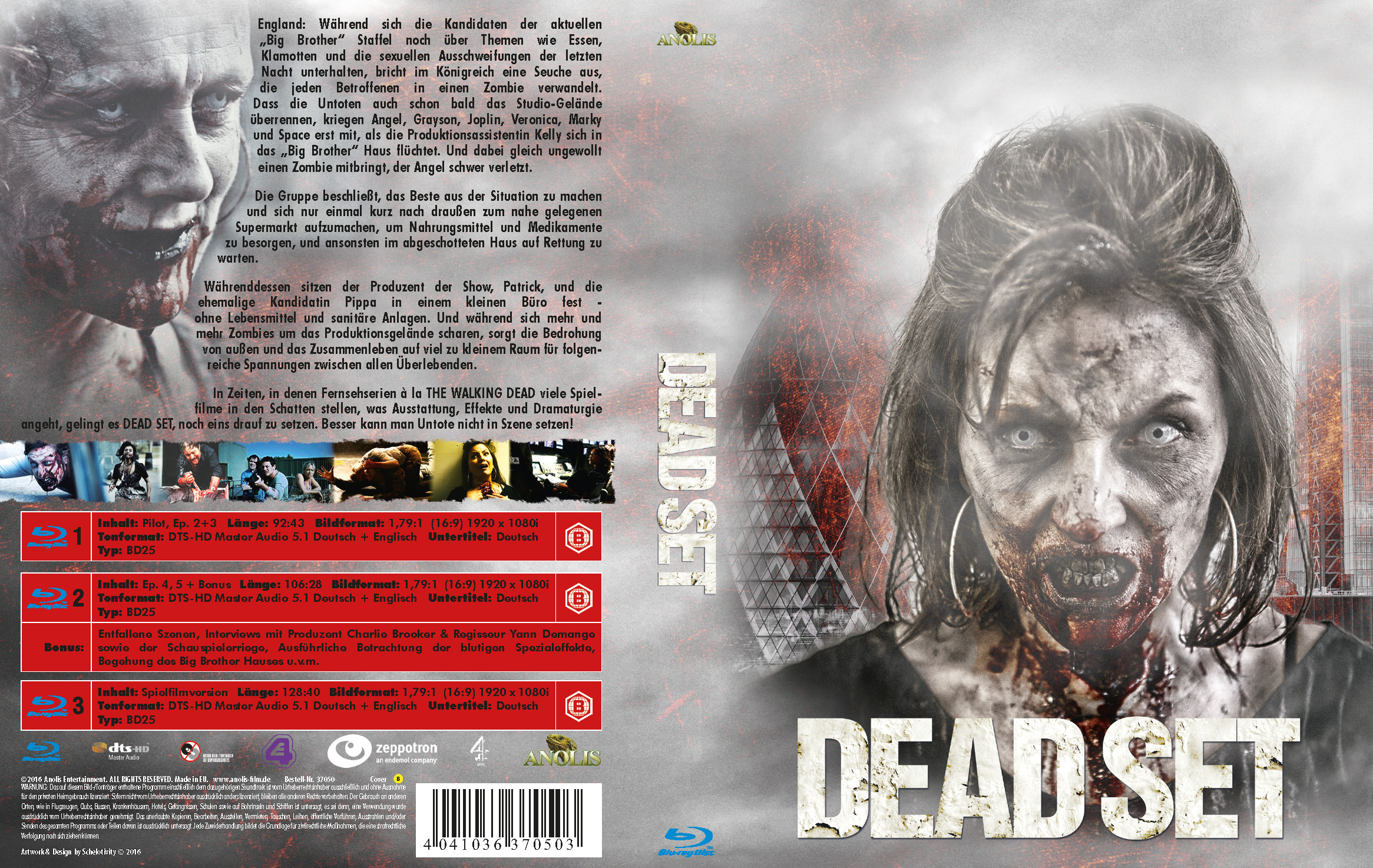 Dead Set (Mediabook Cover B)