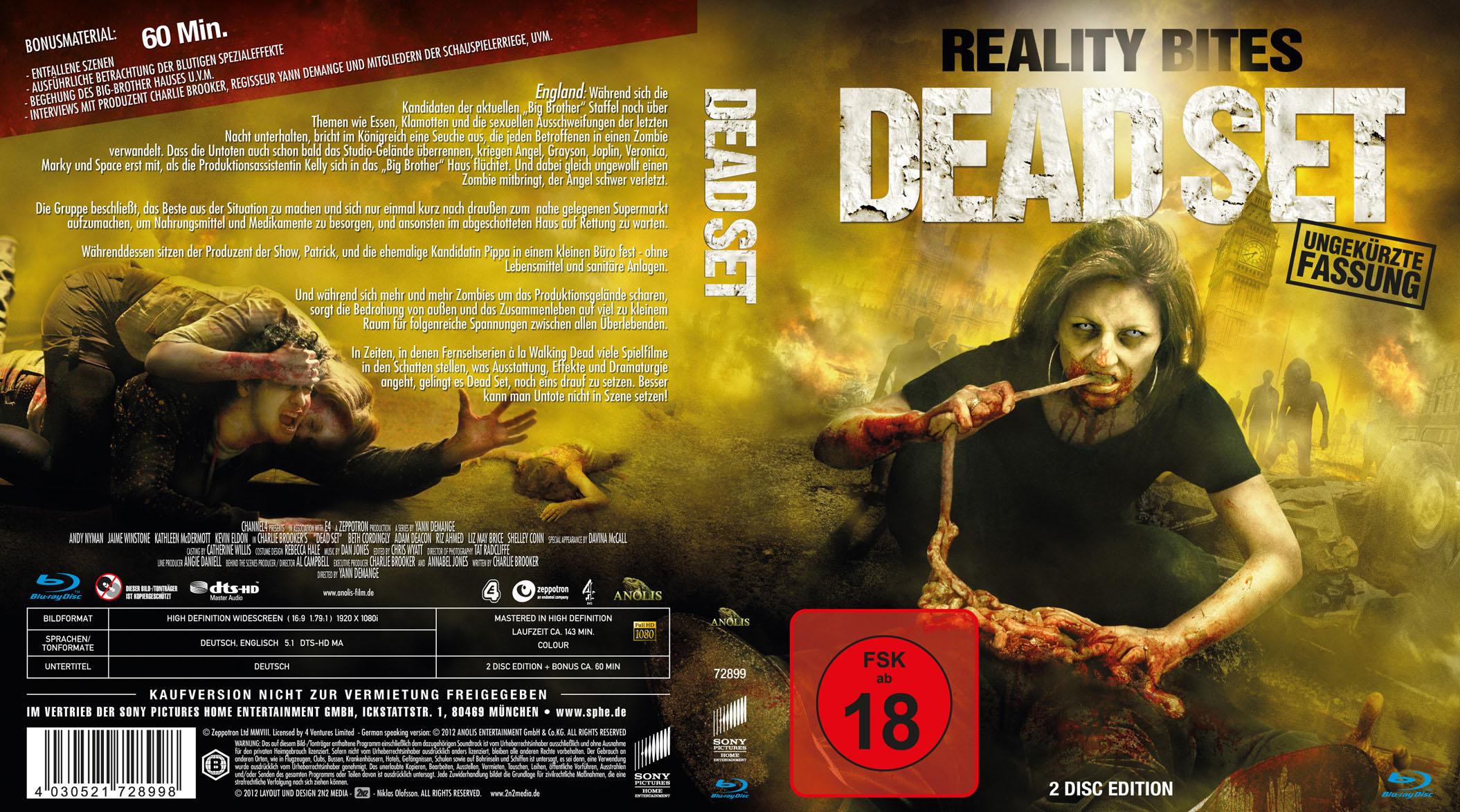 Dead Set - Blu-ray