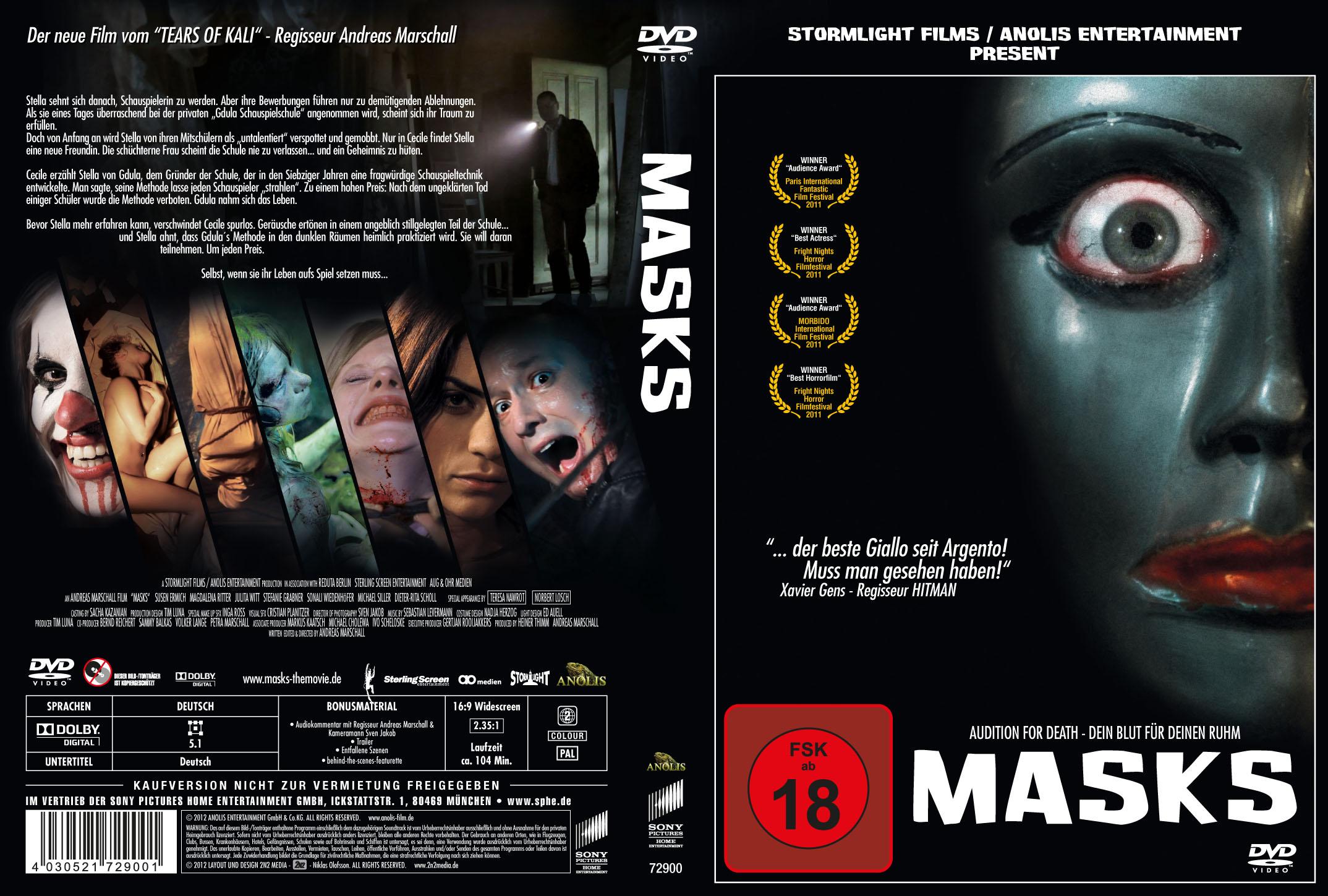 Masks - DVD