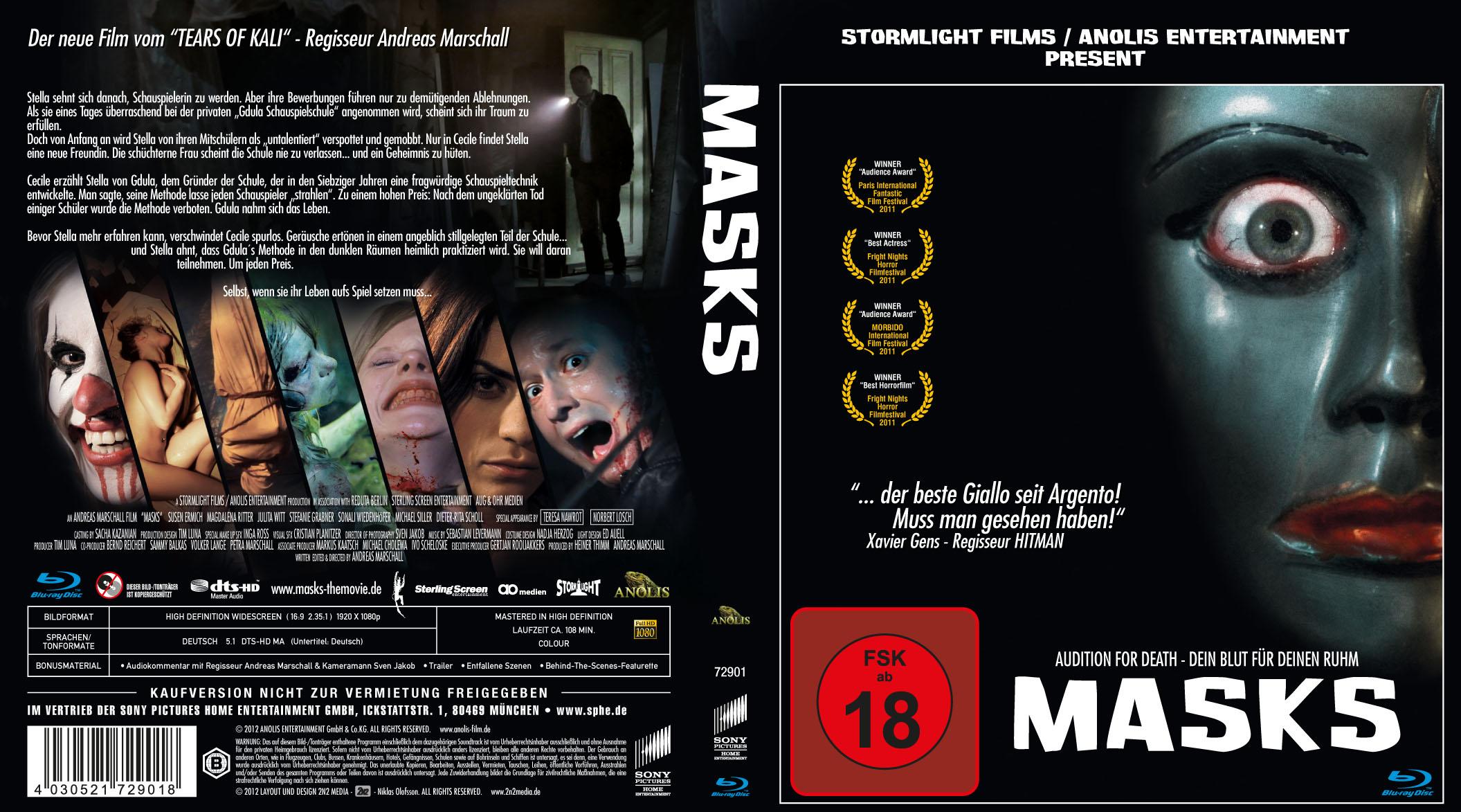 Masks - Blu-ray